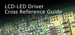 lcd-led driver cross reference